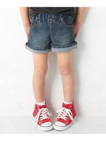 devirock デニムショートパンツ 女の子 ズボン 全3色 デビロック パンツ/ジーンズ【RBA_S】