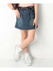devirock デニムスカート 女の子 ボトムス 全4色 デビロック スカート【RBA_S】