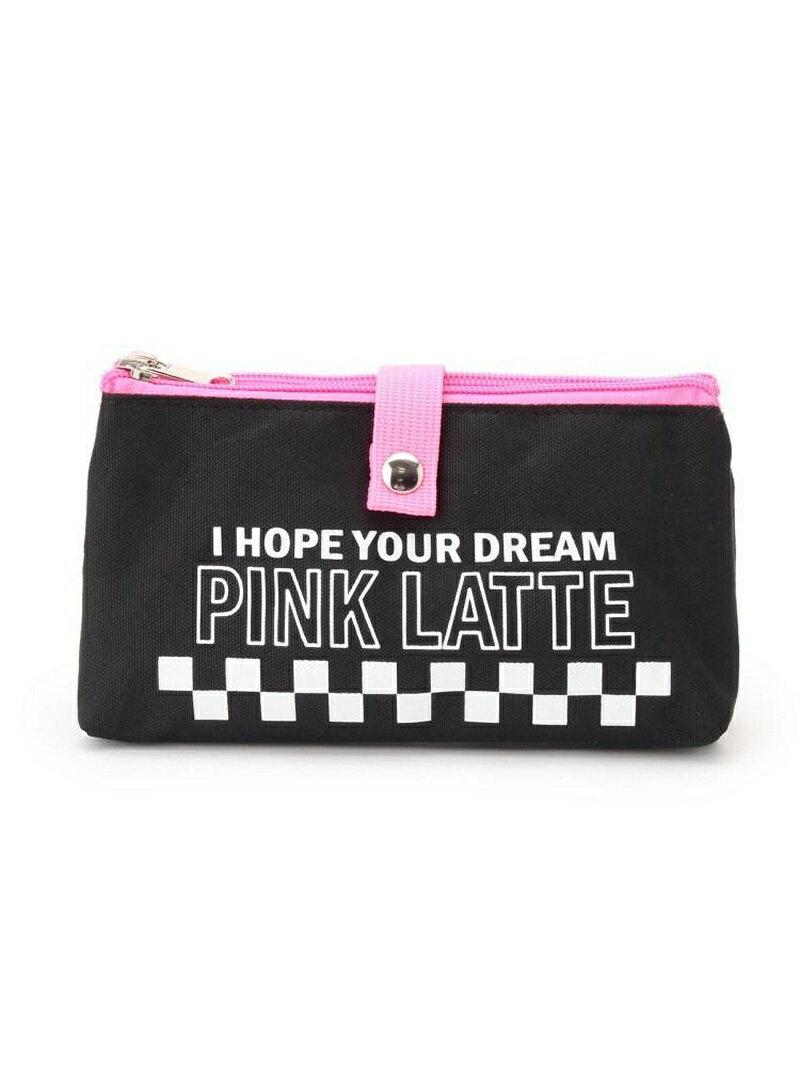 PINK-latte 2ルームポーチ ピンク ラテ バッグ