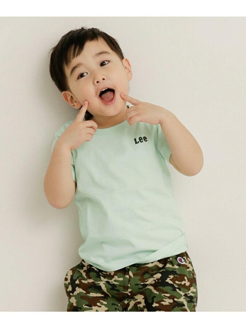 【SALE/30%OFF】DOORS Lee×DOORS-natural- スモールロゴTシャツ(KIDS) アーバンリサーチドアーズ カットソー【RBA_S】【RBA_E】