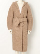 kid mohair ring LONG CARDIGAN
