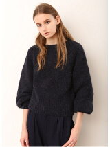 BALLOON KNIT PULLOVER