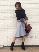 【美人百花 10月号掲載】フィッシュテールスカート