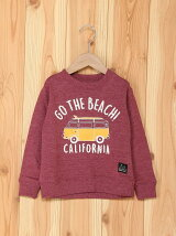 JUNKSOUL/(K)GO THE BEACH刺繍トレーナー