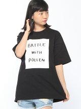 Pzzz/(U)BOXロゴTシャツ
