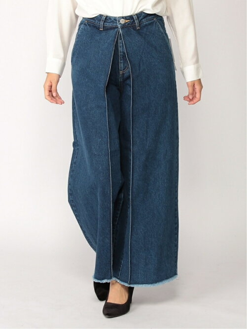 Pleats Denim Pants