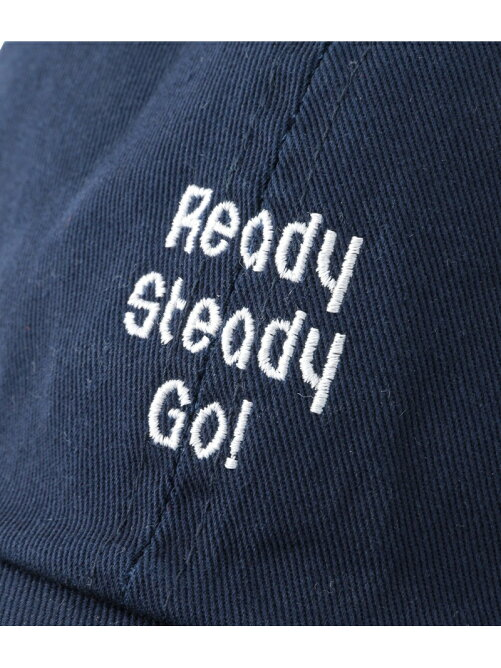 【Ready Steady GO!÷JUNRed】ロゴ刺繍CAP