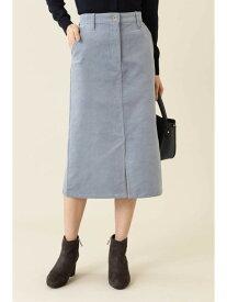 NATURAL BEAUTY BASIC [洗える]コーデュロイスカート ナチュラルビューティベーシック スカート【先行予約】*【送料無料】