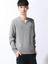(M)CLASSIC V NECK SWEATER