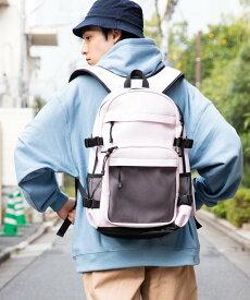 【SALE/27%OFF】WEGO WEGO/(M)スクールリュック ウィゴー バッグ リュック/バックパック ピンク ブラック ホワイト