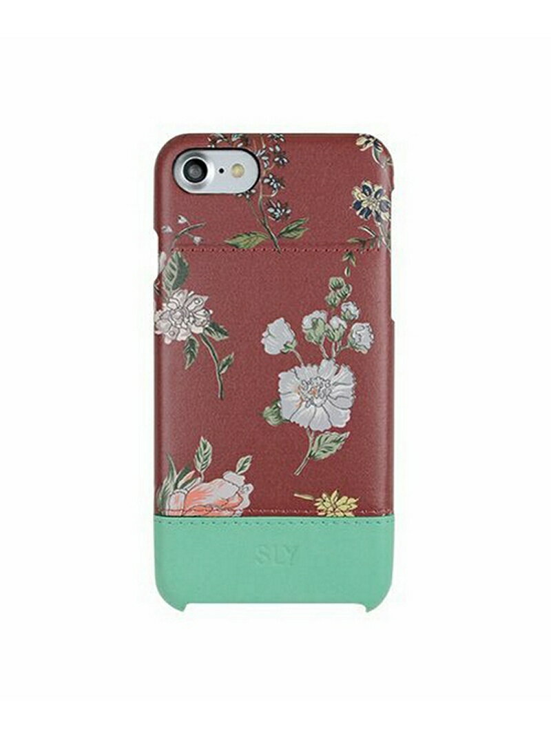 M-factory iPhone7 SLY(スライ) 「ナイトフラワー」 花柄 ケース ブランド エムファクトリー ファッショングッズ