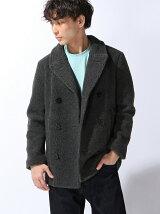 [M]Boa Pea Coat