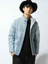 Re-make Denim Down Jacket