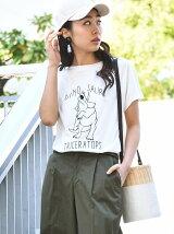 DINOSAUR刺繍Tシャツ