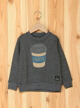 JUNKSOUL/(K)HOT COFFEE刺繍トレーナー