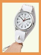 【国内正規品】crampオリジナル懐中時計 ホワイト ウィークエンダー