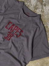ガゼットスラブクルーネックTシャツ2