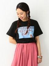 FUJI ROCK FESTIVAL'17 × Ray BEAMS / TONDABAYASHI RAN Tシャツ レイ ビームス フェス