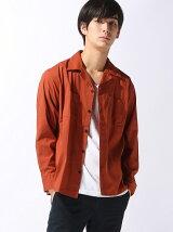 【BROWNY】(M)3メリットオープンカラーシャツ