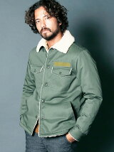 MILITARY BOA FATIGUE SHIRTS BLOUSON