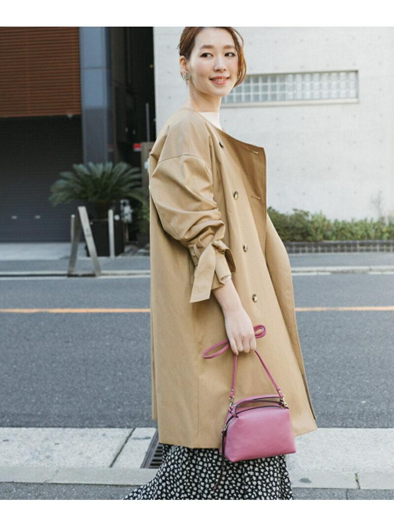 ROSSO リボンスリーブノーカラーコート アーバンリサーチロッソ コート/ジャケット【送料無料】