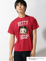 BETTYBOOP/(M)BETTYBOOP TEE LOGO