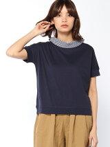 変形ロールカラードルマンTシャツ
