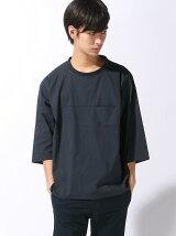 【BROWNY】(M)3メリットプルオーバー7分袖シャツ