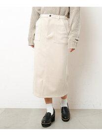 【SALE/61%OFF】Ray Cassin ポンチペンシルスカート レイカズン スカート 台形スカート/コクーンスカート ベージュ ブルー ホワイト