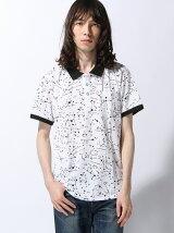 (M)ZIP FIVE レギュラーフィット プリントポロシャツ