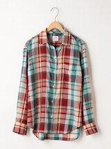 綿テンセル2WAYシャツ