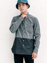ワンポケットシャツ-BLACK CONE