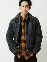 wrangler × BEAMS / 別注 ショート ボアジャケット