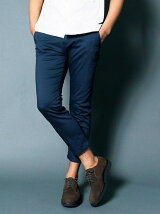 STRETCH TWILL CROPPED TAPERED 9L PANTS