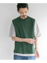 TWIST COTTON KNIT VEST