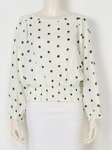 2WAY DOTTED TOP