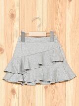 フリルレイヤードスカート