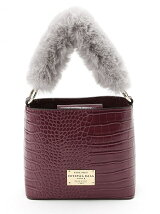Fluffy mini Handbag