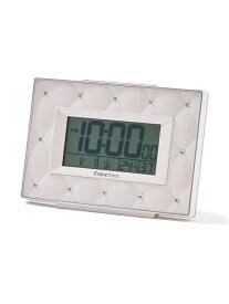 Francfranc アビスコ 電波デジタルクロック フランフラン 生活雑貨 置き時計 ピンク