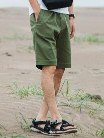 UNITED ARROWS green label relaxing 【 WEB限定 】 [ サンニ-ワークス ] 3/2 WORKS GLR チノ ショーツ # ユナイテッドアローズ グリーンレーベルリラクシング パンツ/ジーンズ ショートパンツ ホワイト ブラック ベージュ【送料無料】