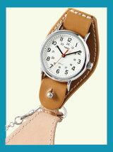 【国内正規品】crampオリジナル懐中時計 キャメル ウィークエンダー