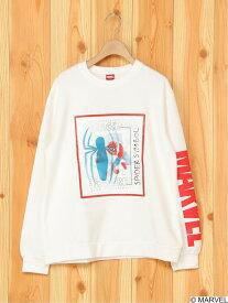 【SALE/40%OFF】MARVEL MARVEL/レンチキュラープリントTシャツ タキヒヨーベビーアンドキッズ カットソー キッズカットソー ホワイト ブラック