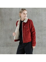 (W)TYPEⅢシェルパジャケット  AUTHENTIC RED