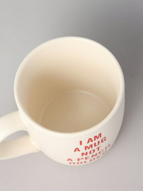 MUG-MR.P I AM MUG NOT A PENCIL HOLDER【マグカップ】