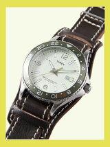 【国内正規品】crampオリジナルレザーベルト台座付き時計 カレイドスコープ オリーブ