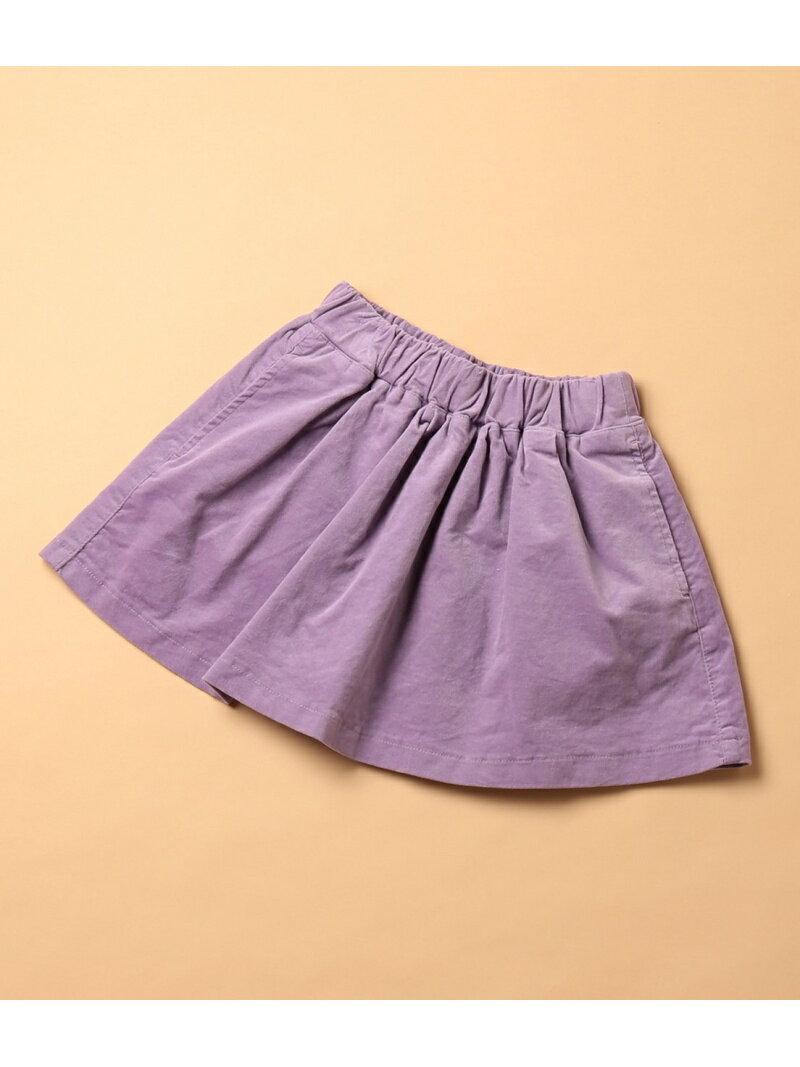 ROPE' PICNIC KIDS 【ROPE PICNIC KIDS】別珍カラースカート ロペピクニック スカート