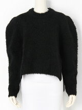 WOLF FUR KNIT Crew Neck