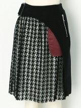 メルトン+ハウンドトゥ-スラップスカート
