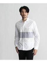 ドット切り替えシャツ
