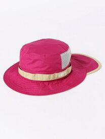 【SALE/50%OFF】SHIPS KIDS SHIPSKIDS:サファリハット2019SS<UVカット・撥水> シップス 帽子/ヘア小物 ニット帽/ビーニー ピンク ベージュ レッド ブルー ネイビー